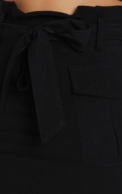 Lara Utility Mini Skirt in black - 12 (L), Black, hi-res image number null