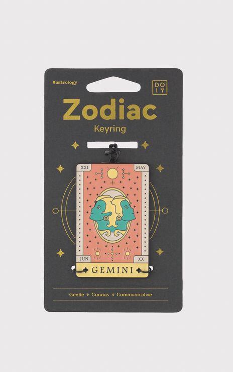 Doiy - Zodiac Keychain in Gemini