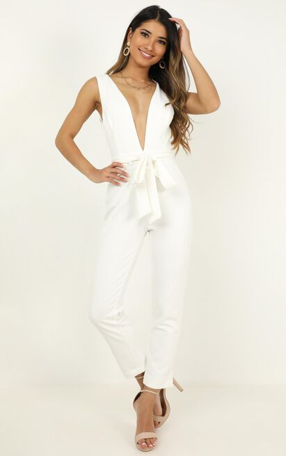 Leave No Trace jumpsuit in white - 8 (S), White, hi-res image number null
