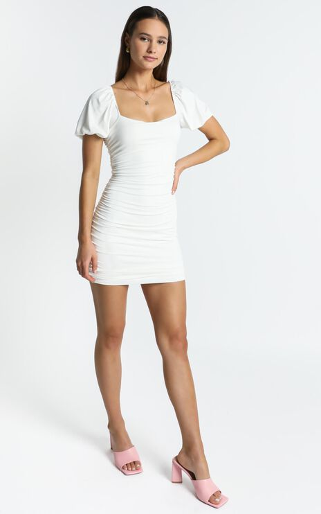 York Dress in White