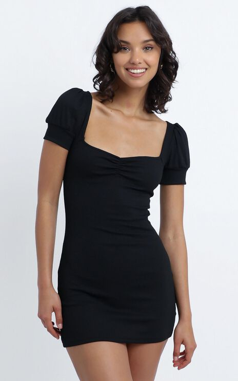 Willa Mini Dress in Black