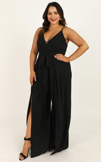 Something Just Like This Jumpsuit in black - 20 (XXXXL), Black, hi-res image number null