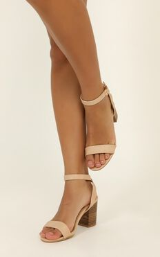 Billini - Carlina Heels In Nude