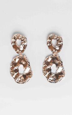 JT Luxe - Palermon Drop Earrings in Gold