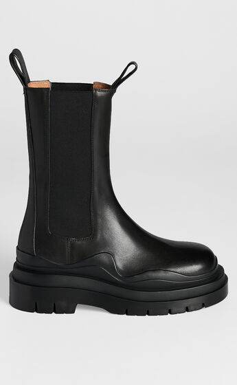 Alias Mae - Piper Boots in Black Burnished