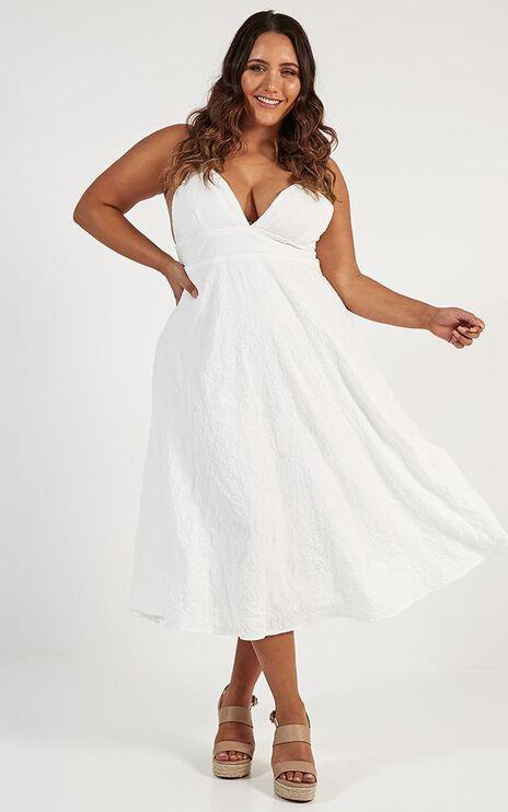 Oh Romeo Dress In White