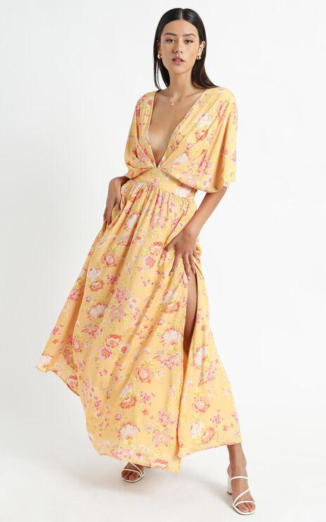 Ella Dress in Tuscan Spring