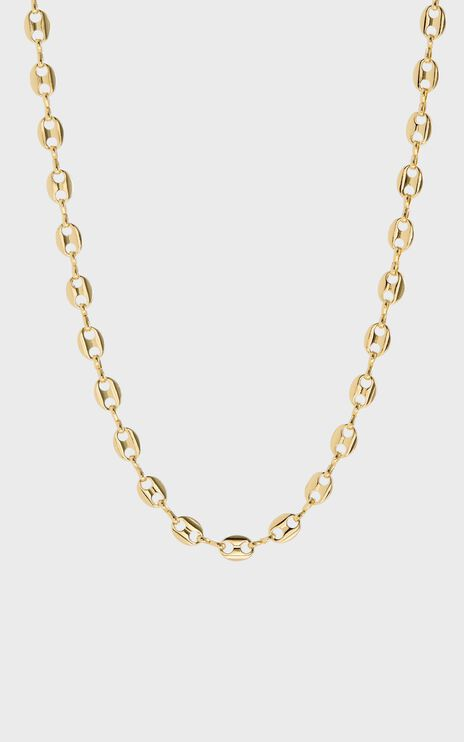 Luv Aj - Mariner Toggle Necklace in Gold