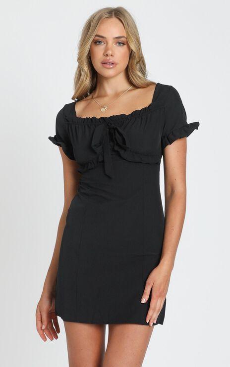Devon Mini Dress in Black