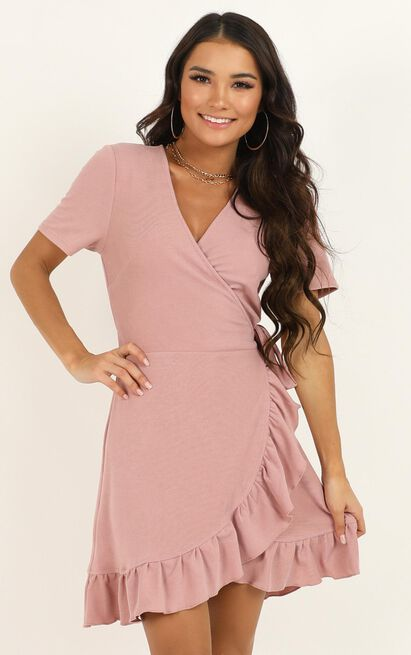 This is Happening Dress in blush - 14 (XL), Blush, hi-res image number null