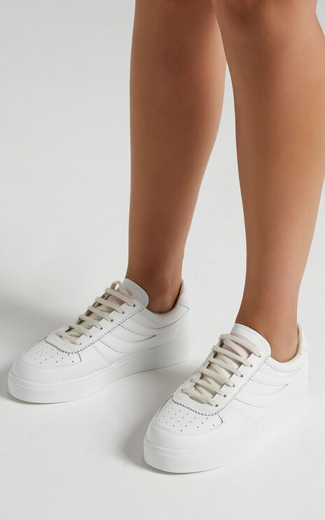 Superga - 2850 Seattle 3 Comfleaw in white - pink pale