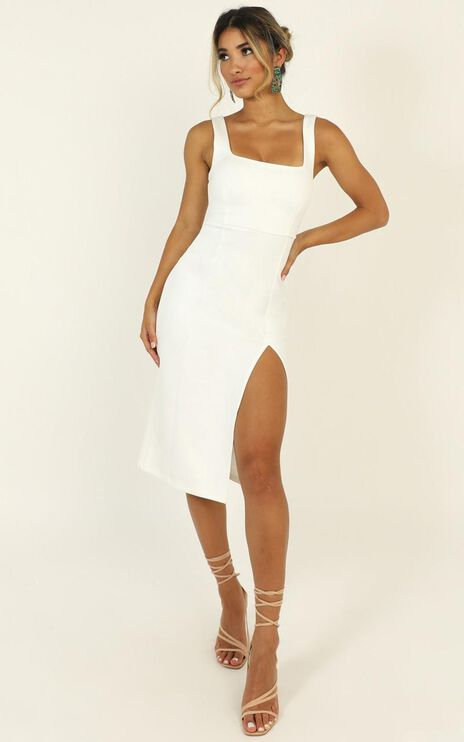 Mini Love Dress in White