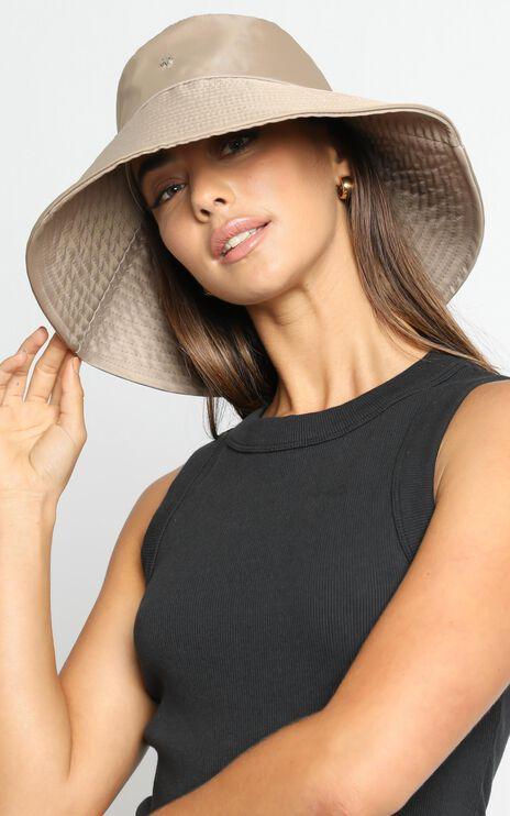 Peta and Jain - Bryton Bucket Hat in Cappuccino Nylon