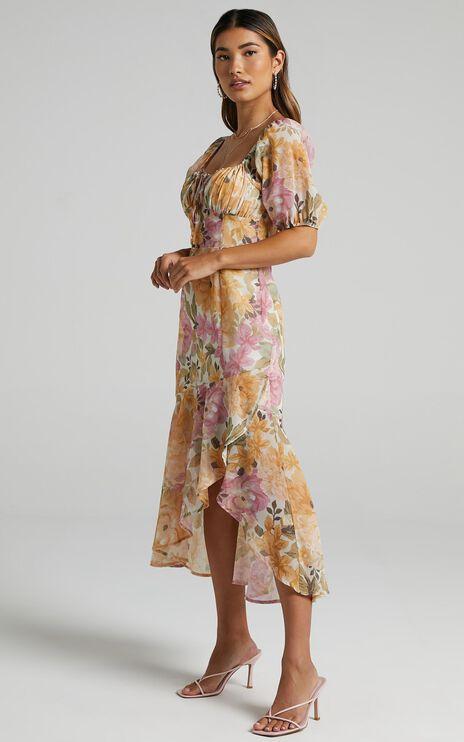 Jasalina Dress in Elegant Rose