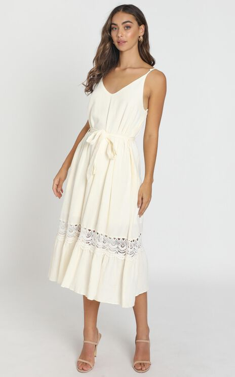 Brittany Dress in Cream