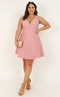 Sweetest Sunshine Dress In Blush