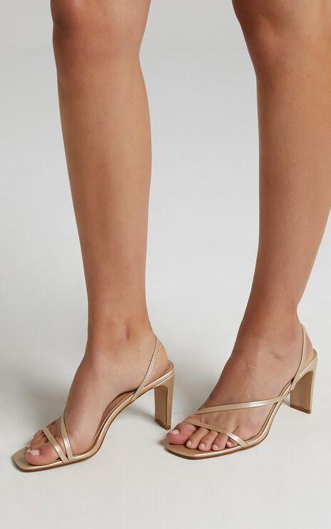 Billini - Solace Heels in Champagne