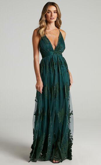 Promenade Maxi Dress in Emerald
