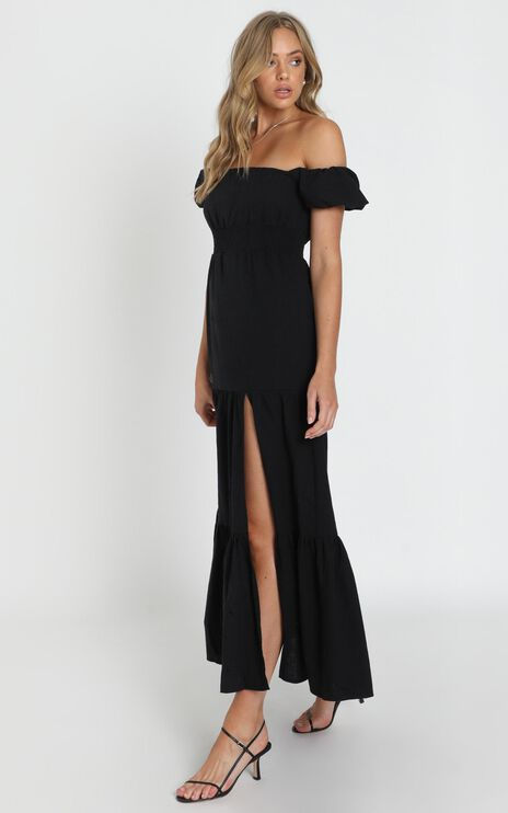 Island Hopper Dress In Black