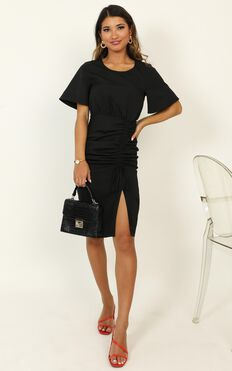 Listings Dress In Black