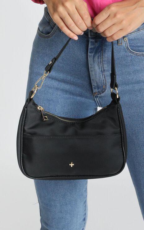 Peta and Jain - Tal Shoulder Bag In Black Nylon