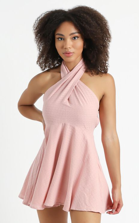 Kefalonia Dress in Blush