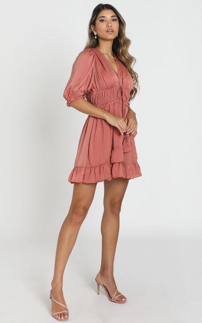 Amalie Dress in blush - 8 (S), Pink, hi-res image number null