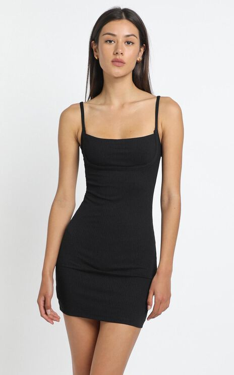 Valentina Dress in Black