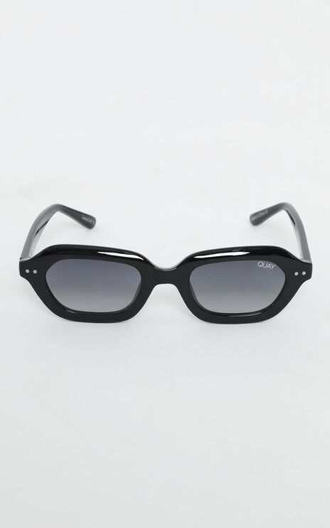 Quay - Anything Goes Sunglasses In Black