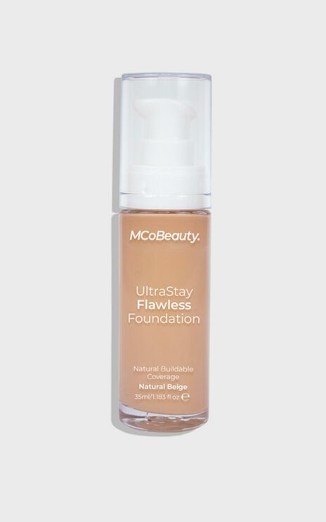 MCoBeauty - Ultra Stay Flawless Foundation - Natural Beige