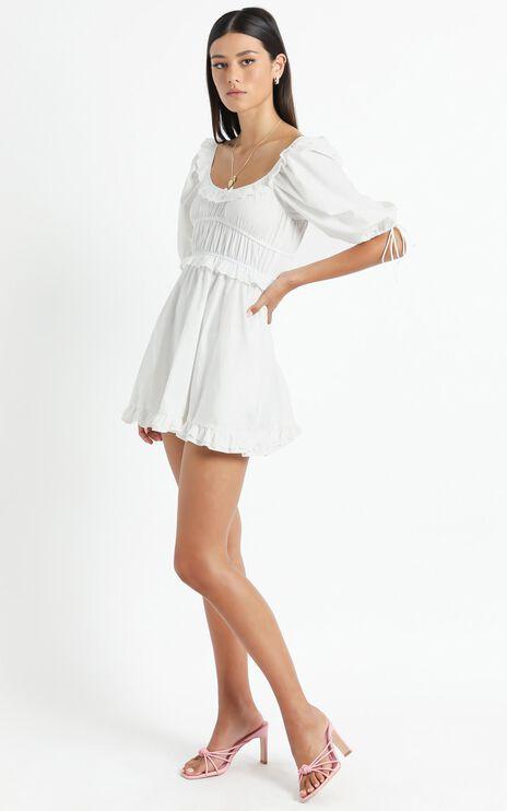 Arizona Dress in White