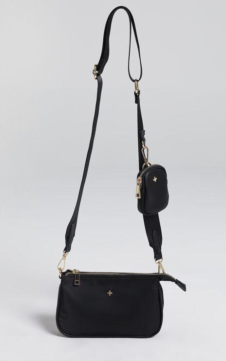 Peta and Jain - Phoenix Bag in Black Nylon