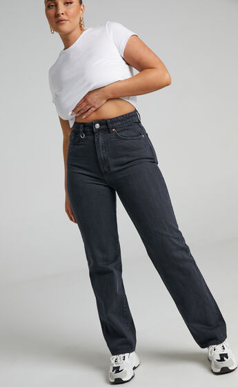 Neuw - Nico Straight Jean in Total Blackout