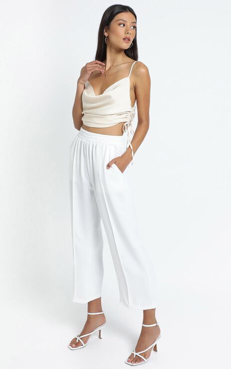 Carolina Pants in White