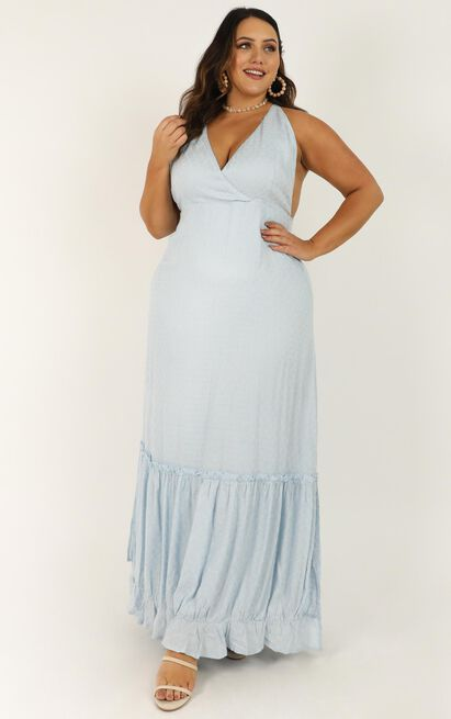 Arty Touch Dress in blue - 20 (XXXXL), Blue, hi-res image number null