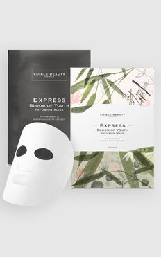 Edible Beauty - Bloom Of Youth Infusion Mask 5 Pack