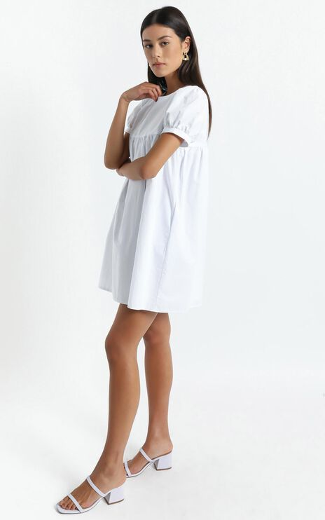 Gyda Dress in White