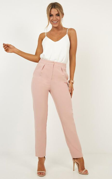 Personality Crisis Pants In Blush
