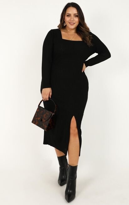 Enjoy The Moment Dress in black - 20 (XXXXL), Black, hi-res image number null