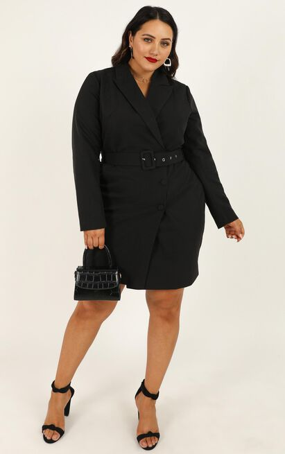 Building Willpower Dress in  black - 20 (XXXXL), Black, hi-res image number null