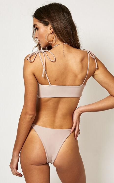 Sloane Bikini Top In Mocha