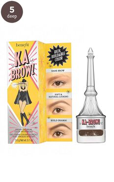 Benefit - Ka-BROW! Eyebrow Cream-Gel Colour in 5 - Warm Black Brown