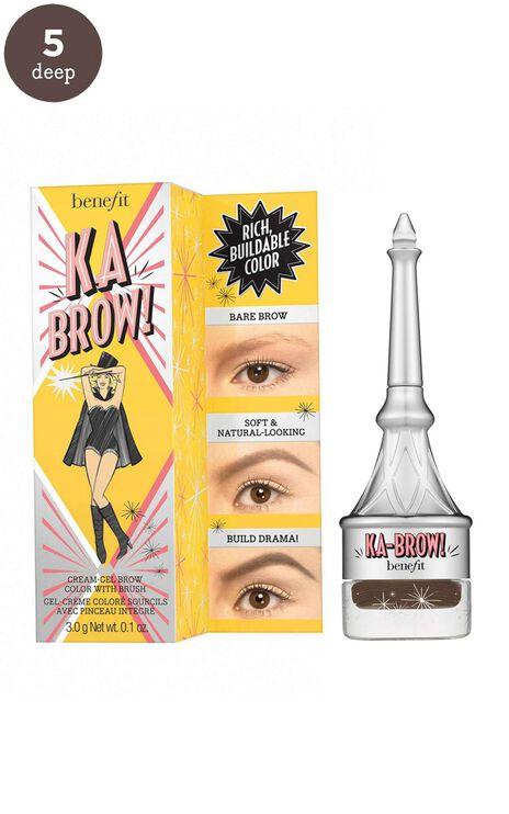 Benefit - Ka-BROW! Eyebrow Cream-Gel Colour in 5 - Warm Black Brown