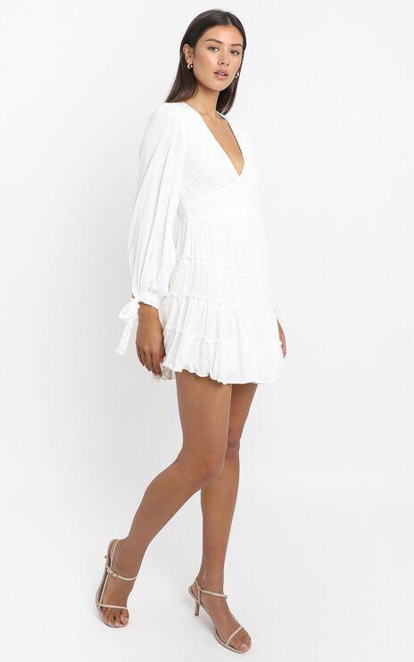 Elliot Dress in White