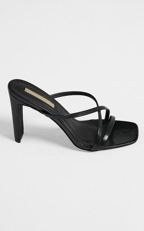 Billini - Guinevere Block Heels in Black Scale