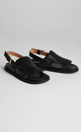 Alias Mae - Payton Sandals in Black Burnished
