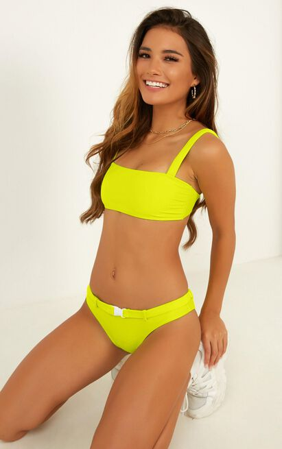 Adriana Bikini Top in lime - 20 (XXXXL), Green, hi-res image number null