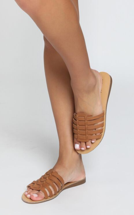 Verali - Bonita Slides In Tan