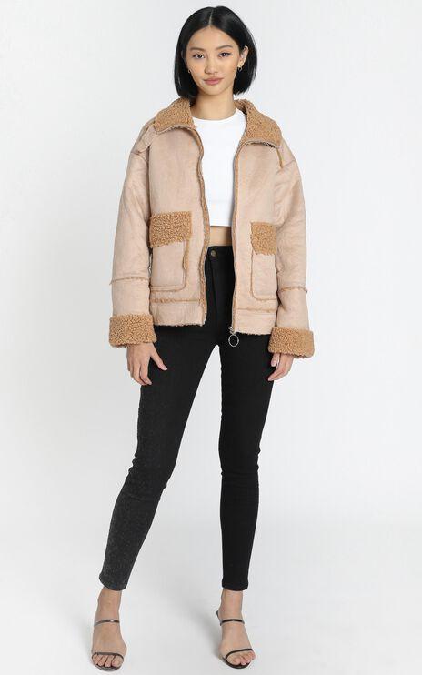 Tatiana Coat in Beige