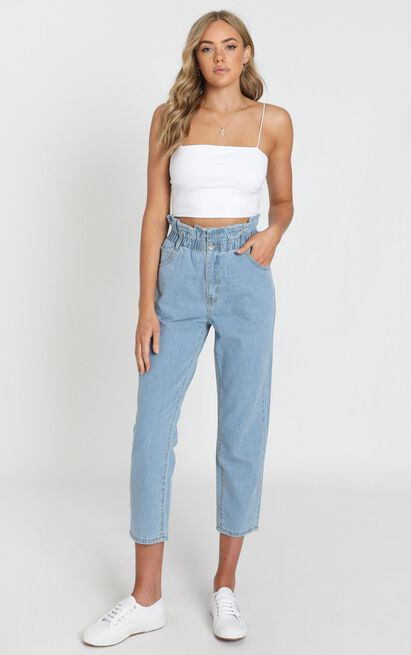 Abbie Jeans in light blue denim - 20 (XXXXL), Blue, hi-res image number null